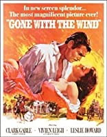 Gone With The Wind Tin Sign 13 x 16in 【Creative Arts】 [並行輸入品]