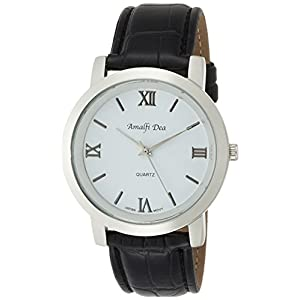 [アリアス]ALIAS 腕時計 アナログ アマルフィ 3気圧防水 革ベルト ホワイト A31M13 メンズ