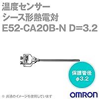 オムロン(OMRON) E52-CA20B-N D=3.2 温度センサ 端子露出形 (保護管長 20cm φ3.2) NN