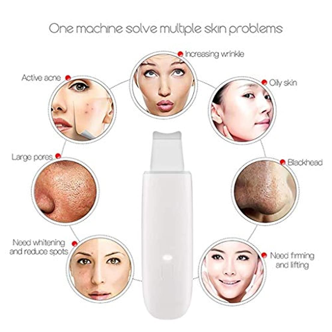 学校の先生サンダース嫌な顔の美のマッサージャー、顔のマッサージャー、微結晶の顔の修理の深いクリーニングの美装置、超音波顔持ち上がるマッサージャー