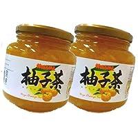 ジーエムピー 韓国高興産 柚子茶 1kg入り×2本セット