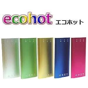 ケータイ充電カイロ ecohot (エコホット) ピンク