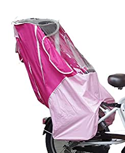 [レイコム]reicom 後ろ用オリジナル 子供乗せ自転車チャイルドシート レインカバー/ピンク