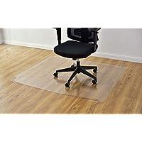 Costway 床保護 チェアマット 1500x1200mm フロアマット フローリングマット マット 床暖房対応 キズ防止 長方形 透明