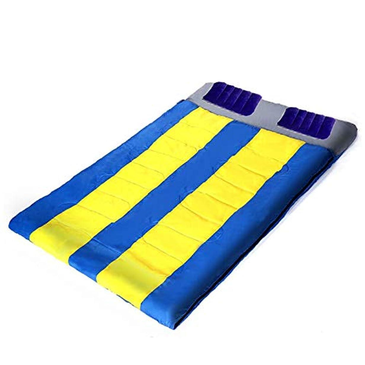 火曜日気をつけて攻撃Fenka (フェンカ) 2人用 寝袋 封筒型 シュラフ 分割使用可能 エアー枕 おまけつき