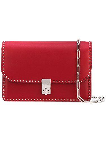 (ヴァレンティノ) VALENTINO Stud Stitching shoulder bag / スタッドステッチショルダーバッグ (並行輸入品)