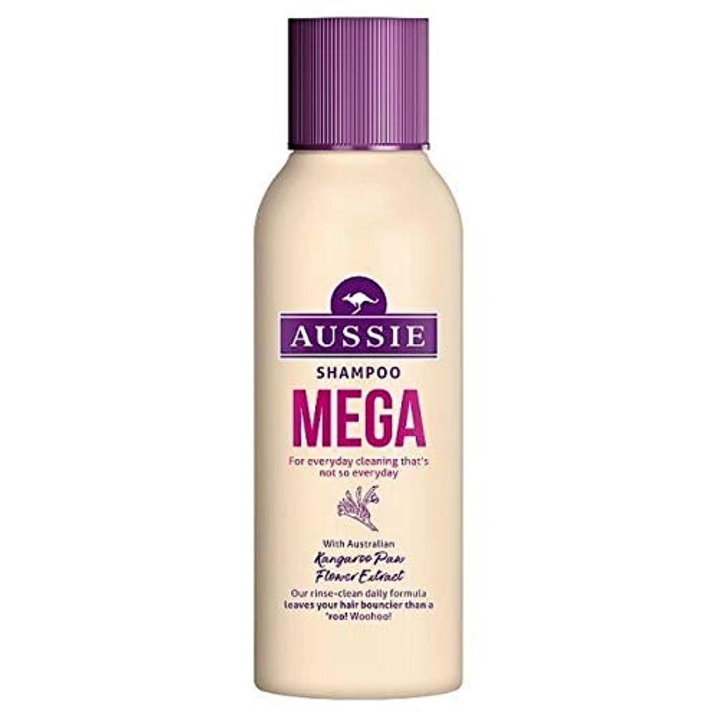 置くためにパック出来事動揺させる[Aussie ] オージーメガシャンプー90ミリリットル - Aussie Mega Shampoo 90ml [並行輸入品]
