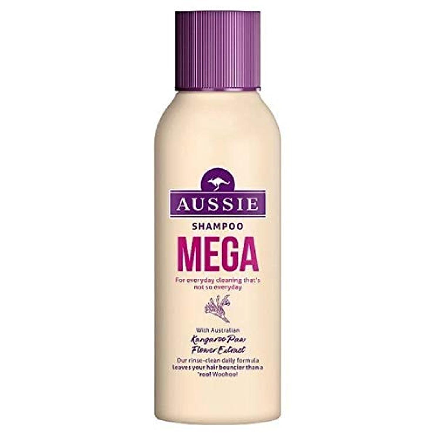 ストレスの多い化学薬品シマウマ[Aussie ] オージーメガシャンプー90ミリリットル - Aussie Mega Shampoo 90ml [並行輸入品]