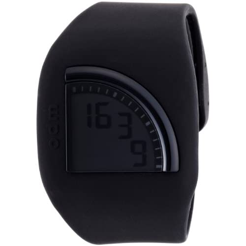 [オーディーエム]o.d.m 腕時計 Quadtime(クアッドタイム) デジタル表示 エコ・グリーン・スリープモード搭載 ブラック DD128-1 メンズ 【正規輸入品】