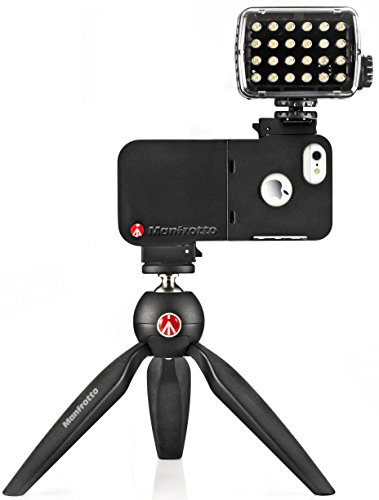 Manfrotto KLYPケース for iPhone5 + ML240 LED MKLKLYP5