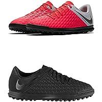 Official Brand Nike Hypervenom Phantom Club Astro Turf Football Trainers Juniors Soccer Shoes