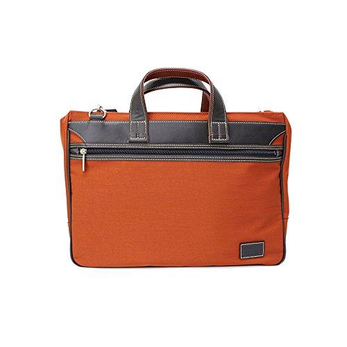 (フィリップラングレー) PHILIPE LANGLET ビジネスバッグ B4対応 NYビジネスシリーズ 26595 (オレンジ(17))