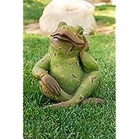 Alpine Corporation Frog Meditating Statue [並行輸入品]
