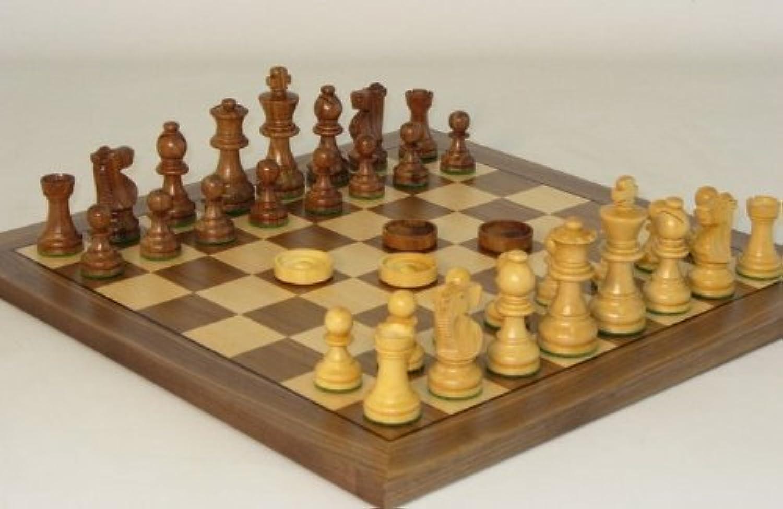 Chess and Checker Set [並行輸入品]