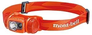 モンベル(mont-bell) ヘッドランプ コンパクトヘッドランプ ホットレッド 1124587-HRD
