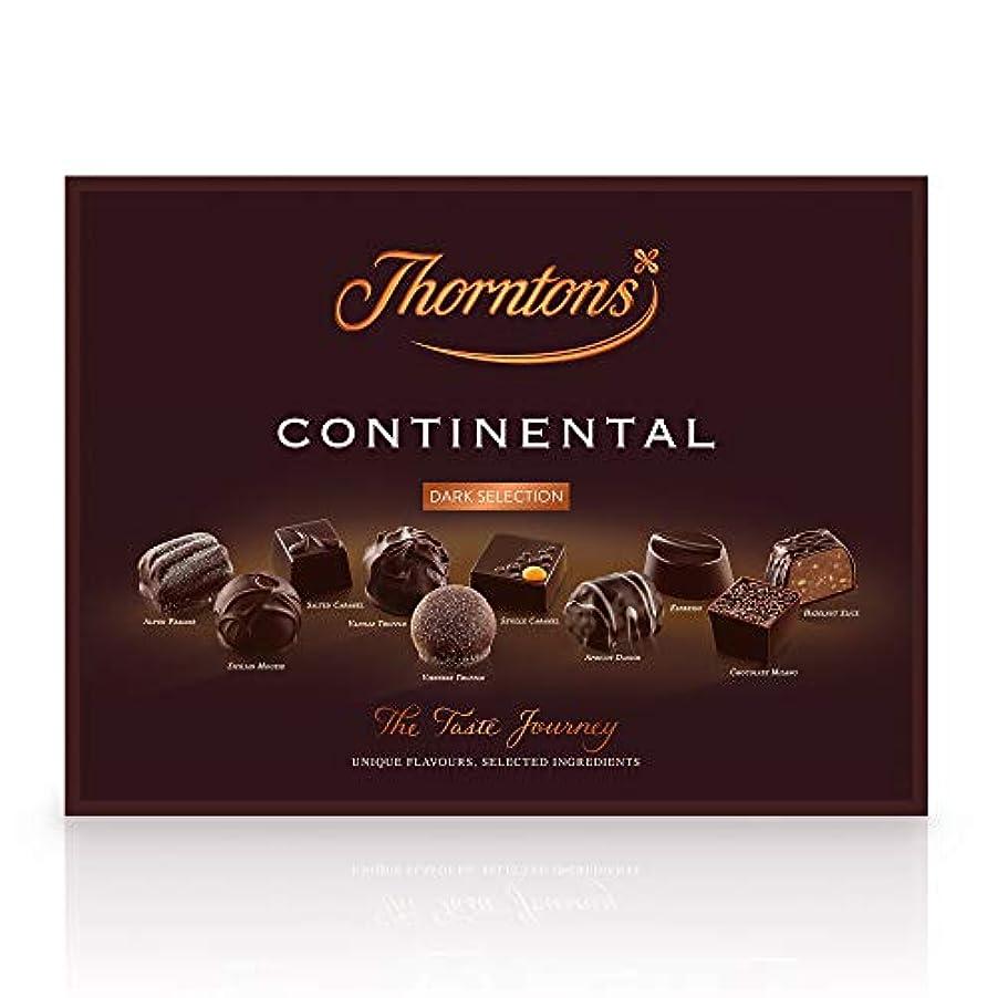 フィラデルフィア名前でフロントThorntons Continental Dark Chocolate Box, 284 g