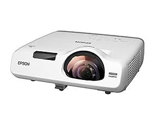 EPSON デスクトップ型超短焦点プロジェクター EB-535W  3,400lm WXGA 3.7kg