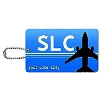 ソルトレイクシティユタ州(SLC)空港コード IDカード荷物タグ