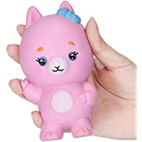 FanXing応力Reliever 10 cm Goat Squeeze Slow Rising Decompression Kids Toy