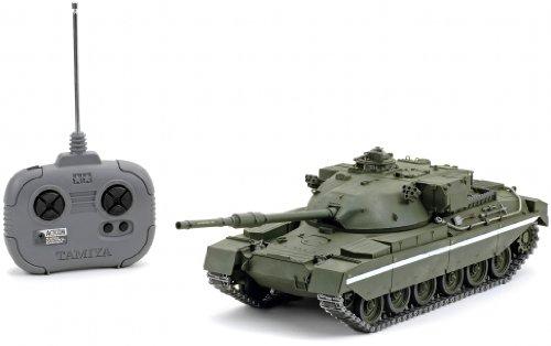 1/25 ラジオコントロールタンクシリーズ No.3 1/25 イギリス陸軍 チーフテン戦車 (4chユニット付き) 56603