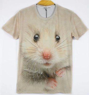 24 種類 アニマル Tシャツ 動物 Tシャツ 半袖 Tシャツ おもしろ Tシャツ デザイン Tシャツ animal (M, ハムスター)