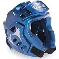 Macho Metallic Blue Warrior Head, Medium