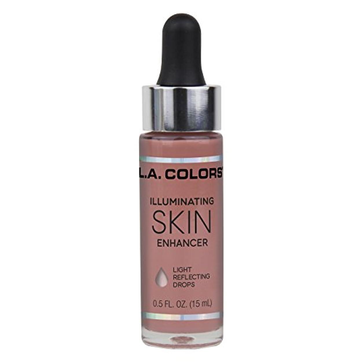 貫通する震え広範囲にL.A. COLORS Illuminating Skin Enhancer - Aura (並行輸入品)