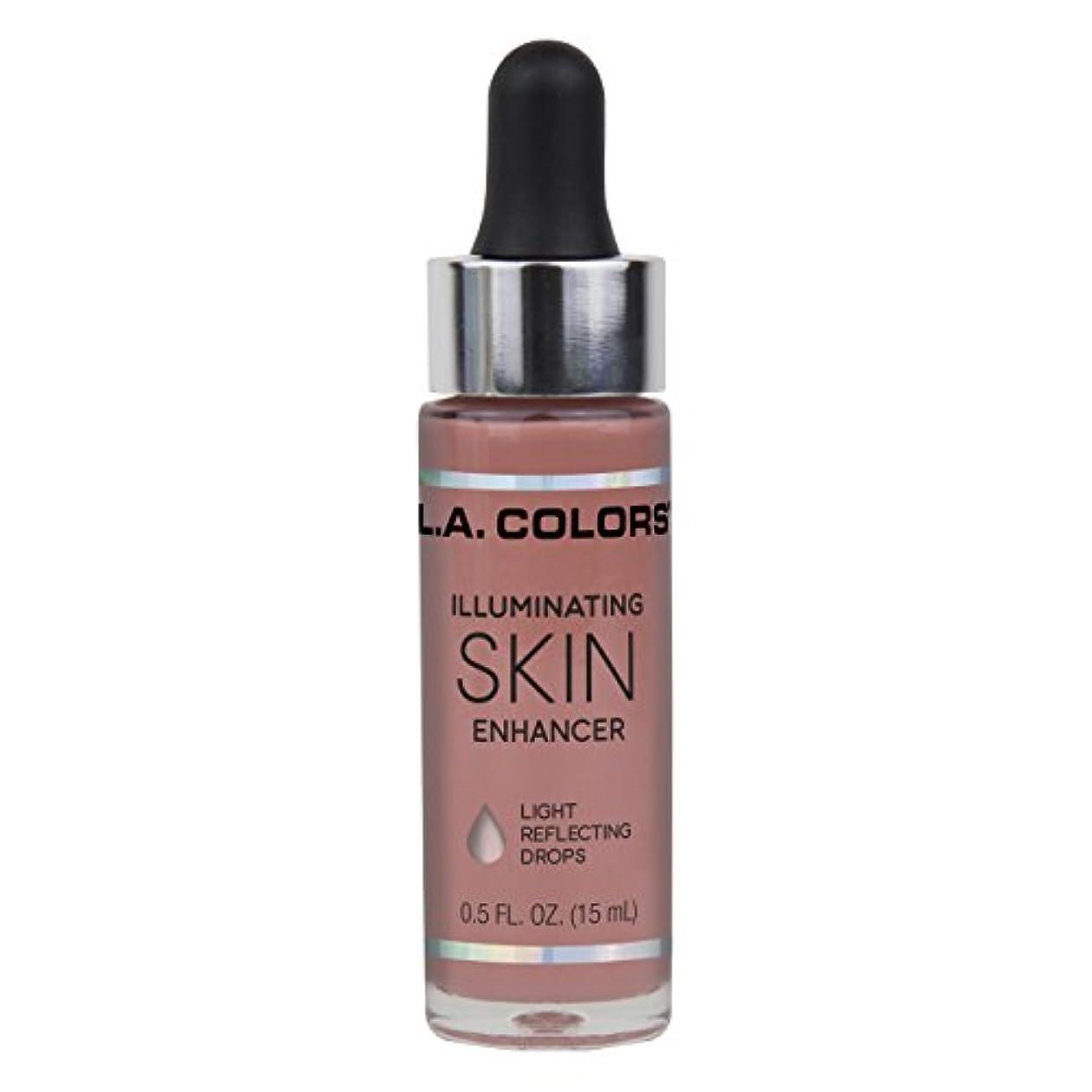週間信頼並外れてL.A. COLORS Illuminating Skin Enhancer - Aura (並行輸入品)