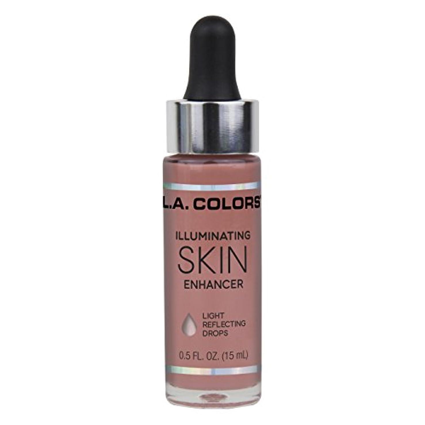 王位冊子過度のL.A. COLORS Illuminating Skin Enhancer - Aura (並行輸入品)