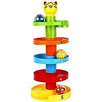 ychoice Lovely赤ちゃんおもちゃギフト幼児子供赤ちゃん教育パズルローリングボールマルチボールセットおもちゃ旋回ボールランプボールドロップおもちゃ