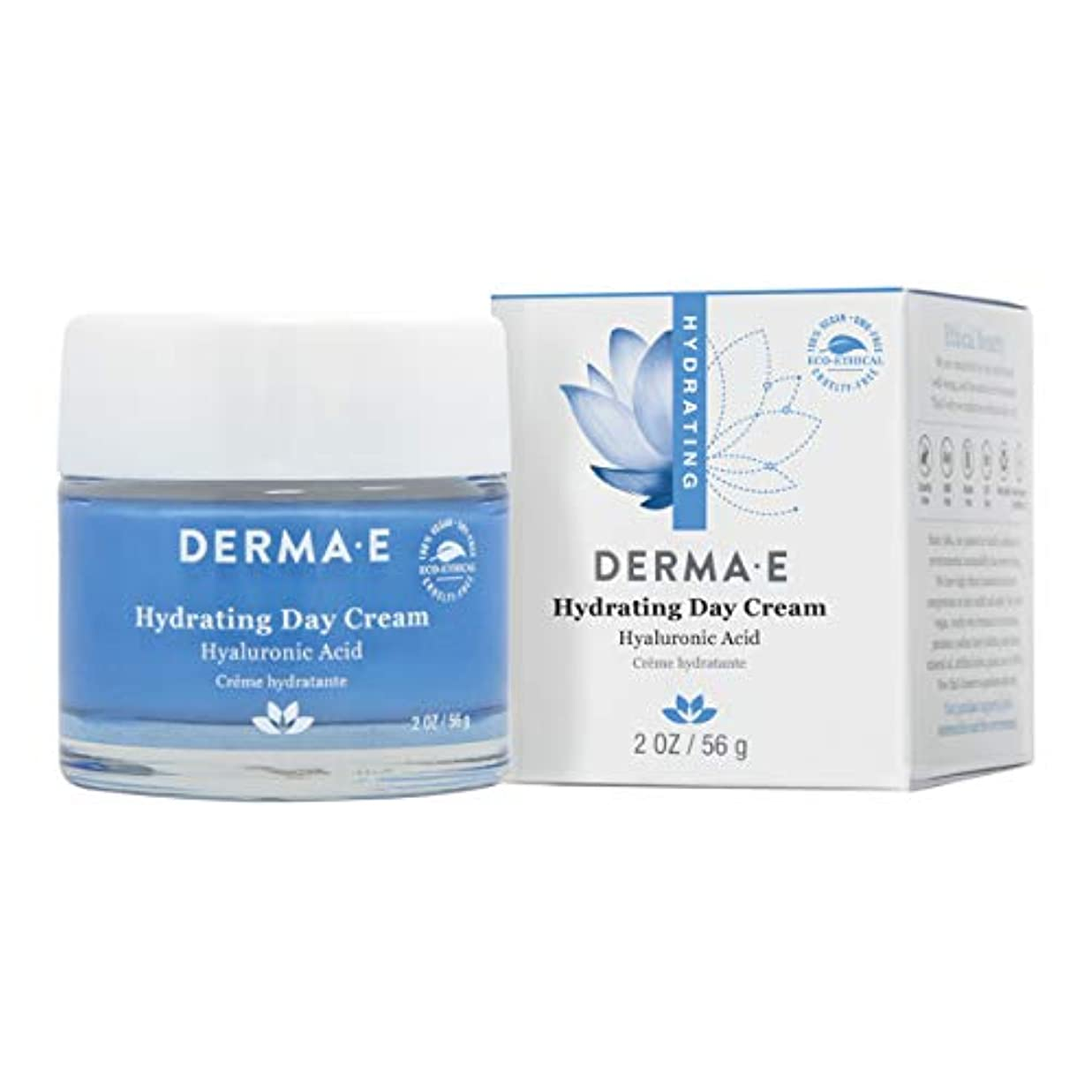 ハブブ引き算荒涼としたDerma E Hydrating Day Cream 56g/2oz並行輸入品