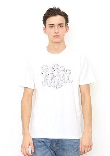 (グラニフ) graniph コラボレーションTシャツ/11ぴきのねこ (11ぴきのねこ) (ホワイト) S