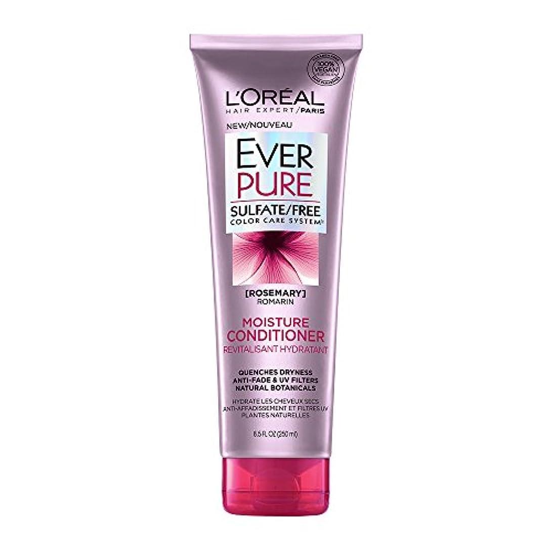 グリップ大アラブサラボLoreal Everpure Moisture Hair Conditioner Rosemary Mint - 8.5 oz (並行輸入品)