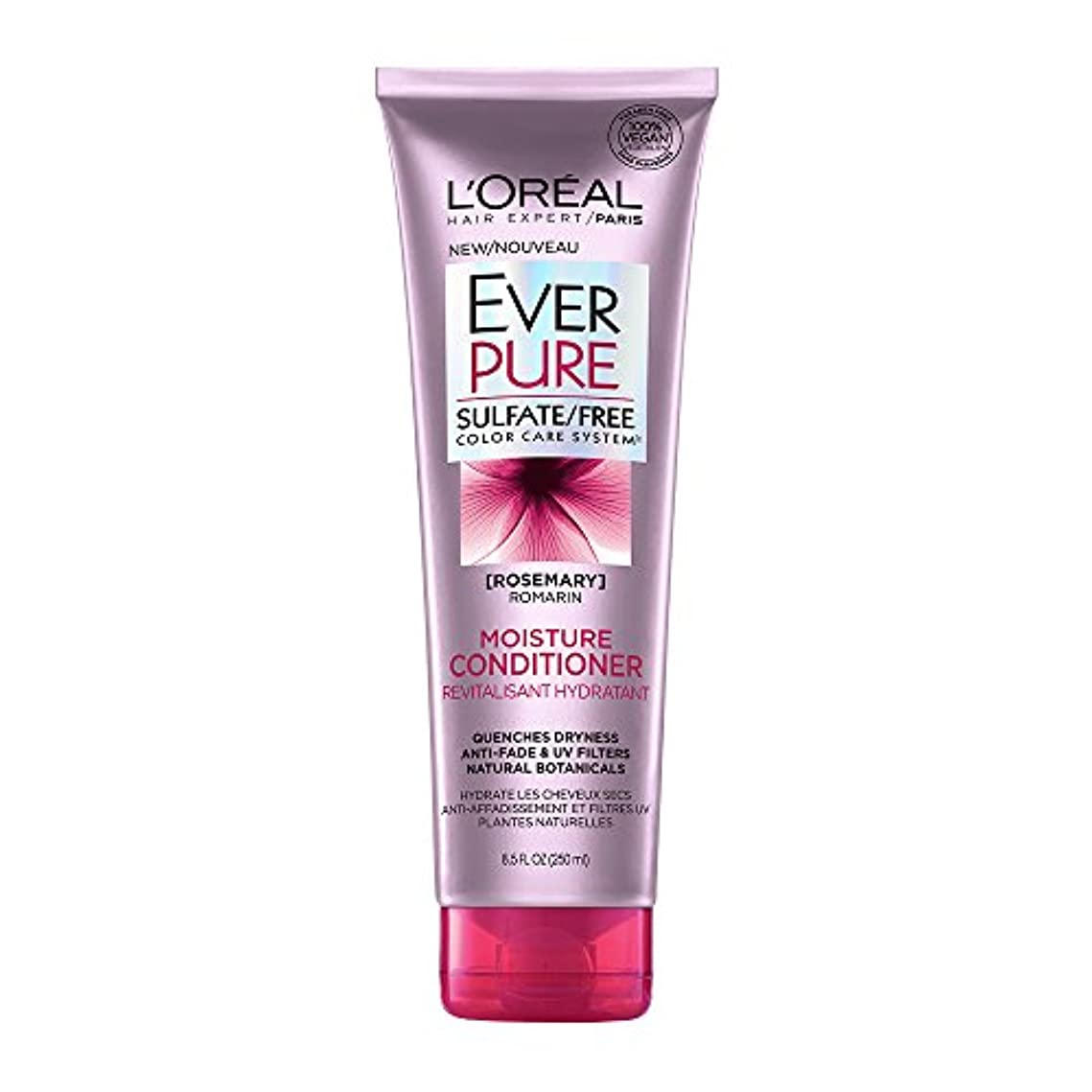 先住民共役電気陽性Loreal Everpure Moisture Hair Conditioner Rosemary Mint - 8.5 oz (並行輸入品)