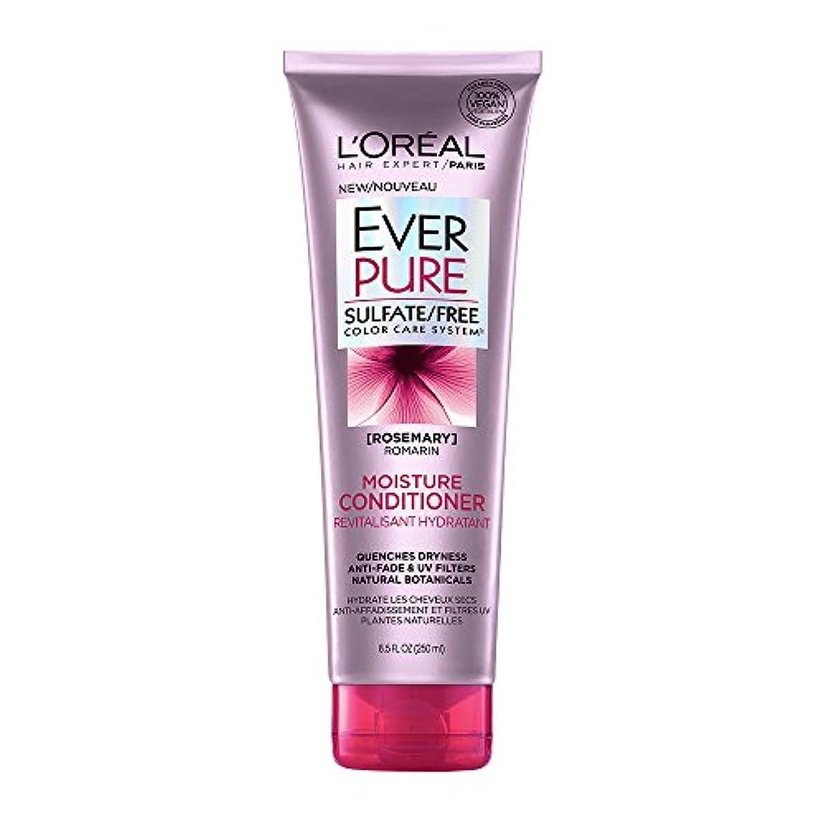 間違いカップ同封するLoreal Everpure Moisture Hair Conditioner Rosemary Mint - 8.5 oz (並行輸入品)