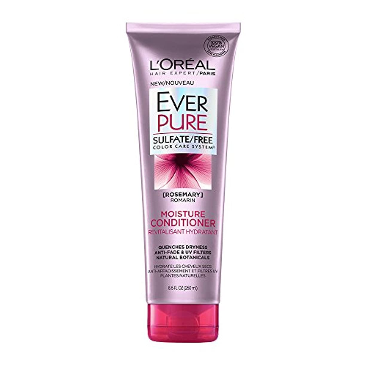 絶壁水分銃Loreal Everpure Moisture Hair Conditioner Rosemary Mint - 8.5 oz (並行輸入品)
