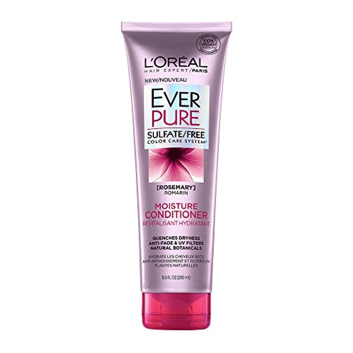 きゅうり踏みつけレギュラーLoreal Everpure Moisture Hair Conditioner Rosemary Mint - 8.5 oz (並行輸入品)