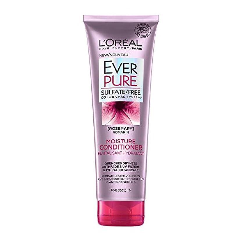 医療の滑りやすい命令Loreal Everpure Moisture Hair Conditioner Rosemary Mint - 8.5 oz (並行輸入品)