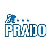 ミリタリー PRADO プラド カッティング ステッカー ブルー 青