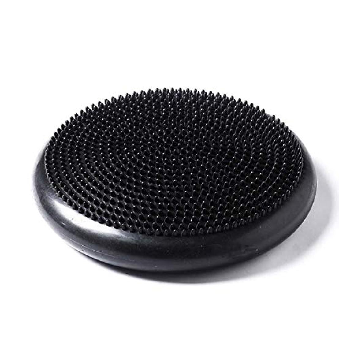 ビタミンテメリティ強制的ポータブルサイズpvcボディエクササイズフィットネス安定性ディスクバランスヨガパッドウォブルクッション足首膝ボードポンプ付き