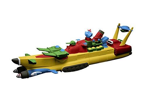 ダイナマイトアクション スペシャル! 合体巨艦 ヤマト ノンスケール PVC&レジンキャスト製 塗装済み 完成品