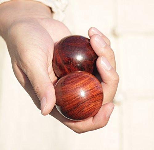 健身球 - アトリエマル (50, 鉄刀木(タガヤサン))