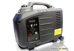 【発電機】高性能インバーター発電機 SF-2600F エコスロットル