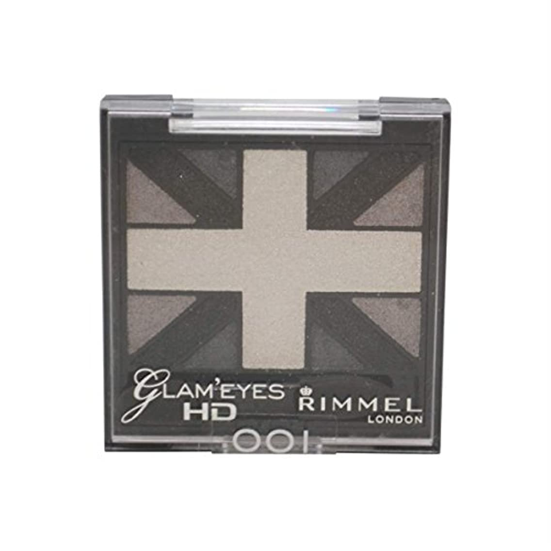 調和ベルトぐったりRIMMEL LONDON Glam'Eyes HD Eyeshadows Black Cab (並行輸入品)