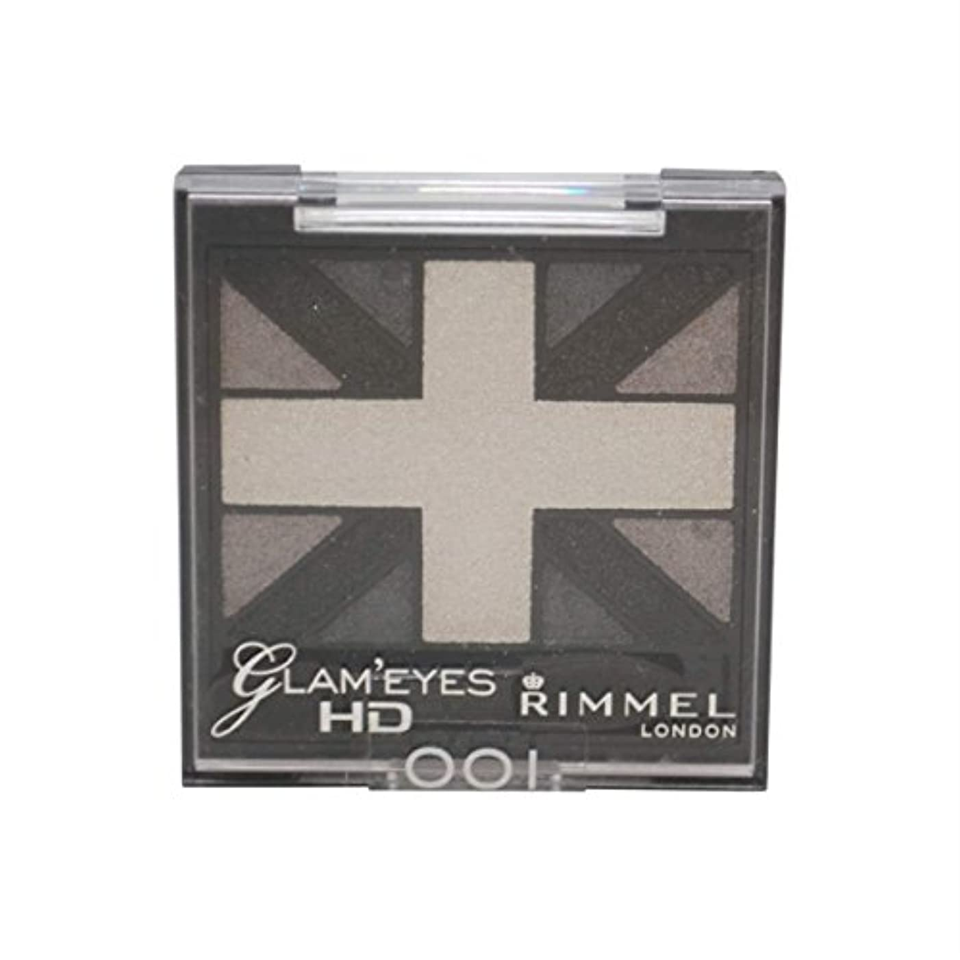 手のひら許容スーツRIMMEL LONDON Glam'Eyes HD Eyeshadows Black Cab (並行輸入品)