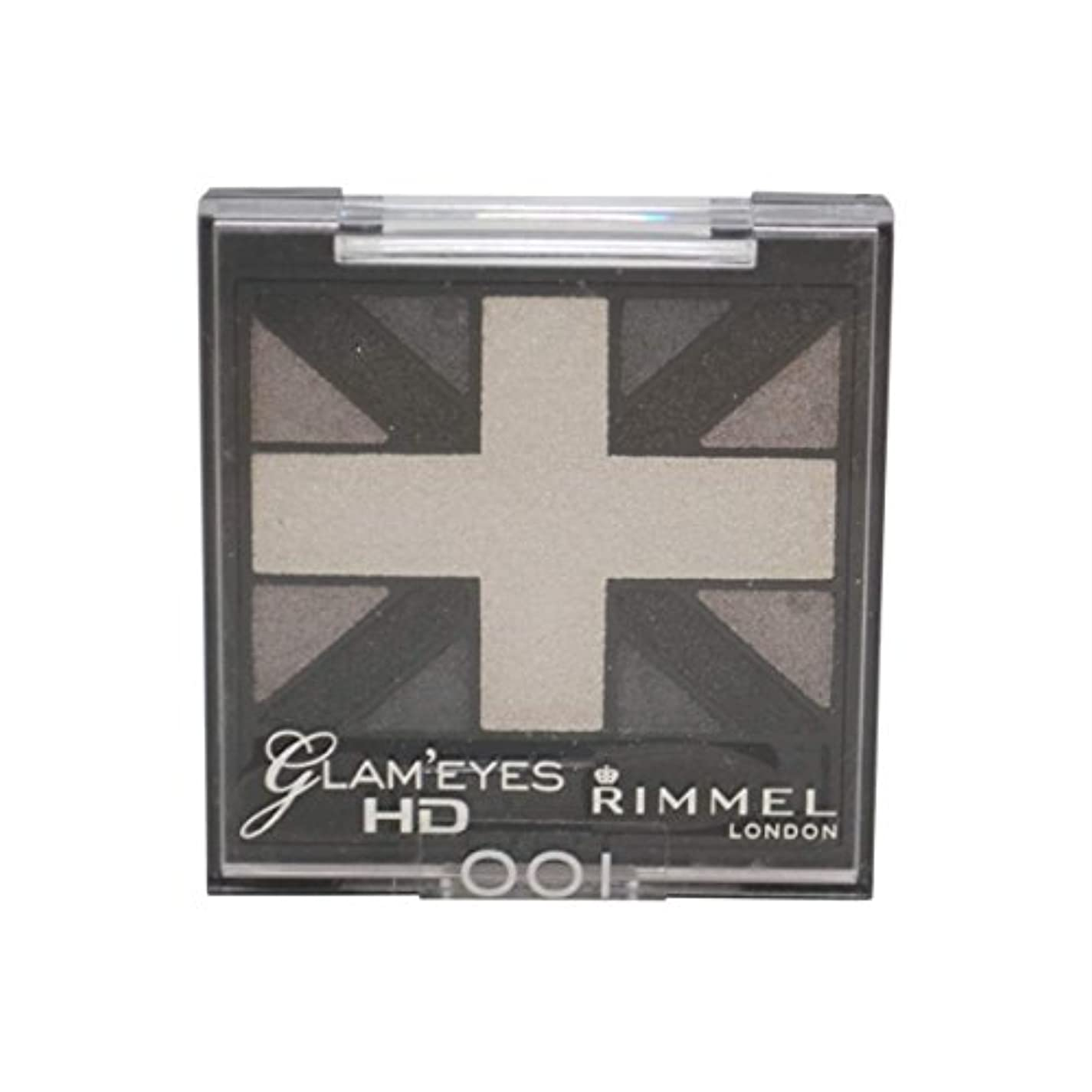 RIMMEL LONDON Glam'Eyes HD Eyeshadows Black Cab (並行輸入品)