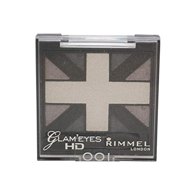 すみません地理適性RIMMEL LONDON Glam'Eyes HD Eyeshadows Black Cab (並行輸入品)