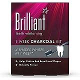 [Brilliant ] 華麗なホワイトニング1週間木炭キット - Brilliant Whitening 1 Week Charcoal Kit [並行輸入品]