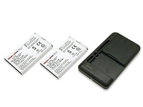 USB マルチ充電器 と SoftBank Pocket WiFi 303ZT/Y!mobile 305ZT モバイルルーター の ZEBAU1 2個セット 互換 バッテリー 実容量高ロワジャパンPSEマーク付