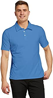 Solbari UPF 50+ Men's Sun Protection Short Sleeve Polo Shirt Sensitive Collection - UV Protection, Sun Pro